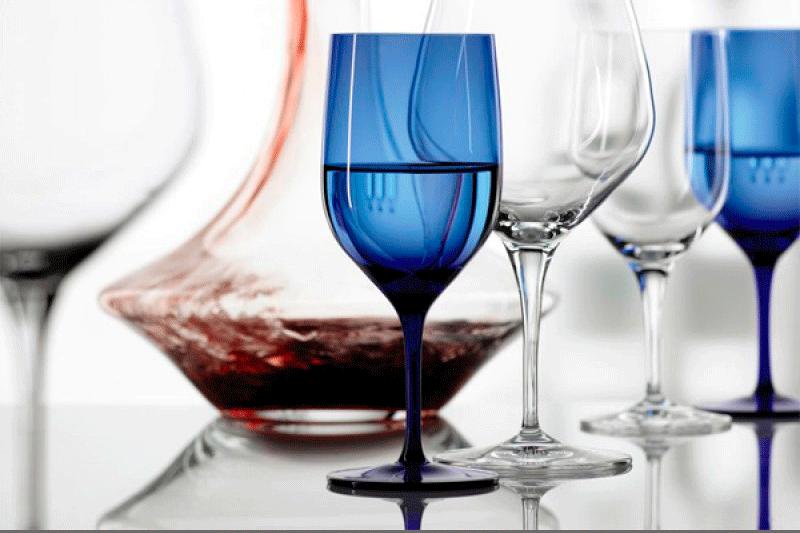 Copas Water Blue Wessweinglass