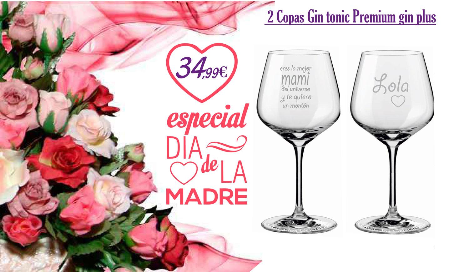 Cristafiel 2 Copas Gin Tonic Premium gin plus