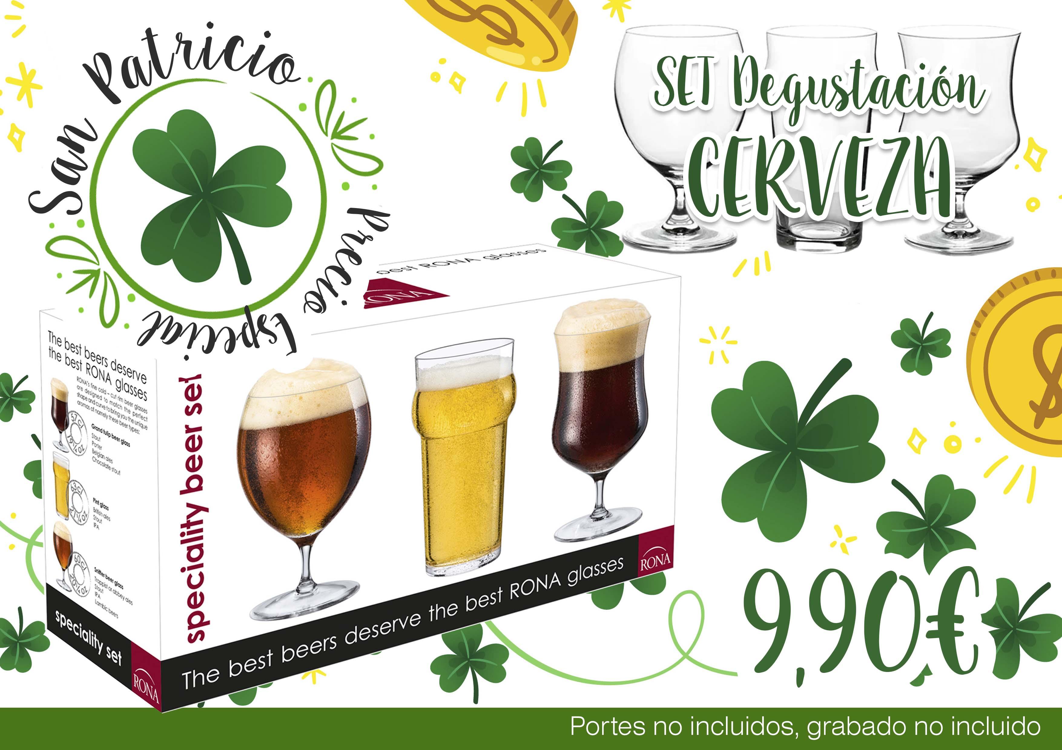 san patricio set cervezas precio especial