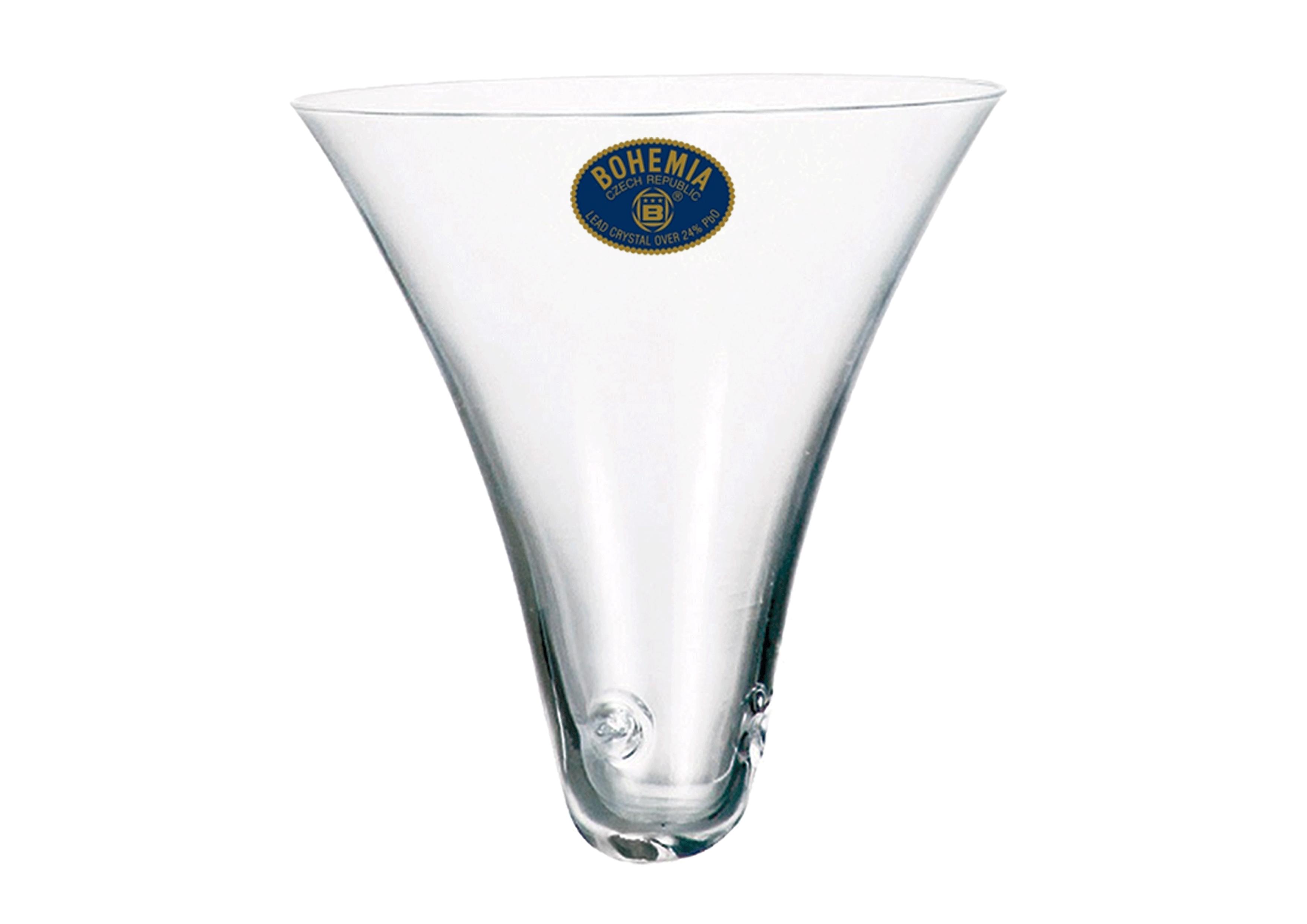 Embudo Cristal de Bohemia Grabados Cristafiel Embudo de Cristal Copas Baratas