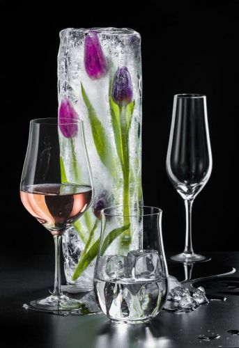 Copa Tulipa 550 ml Grabados Cristafiel