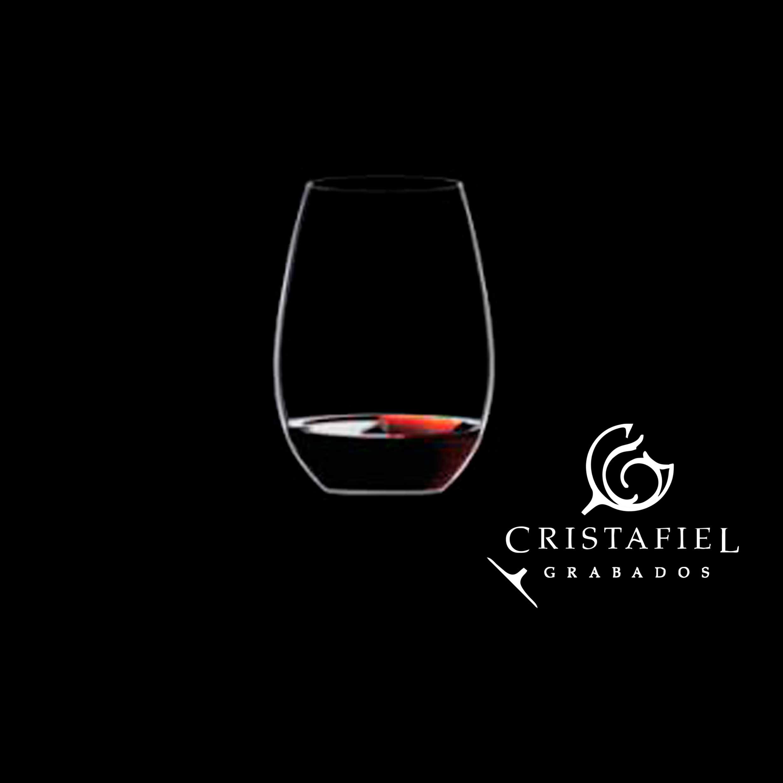 1 Vaso Riedel Brandy Grabados Cristafiel