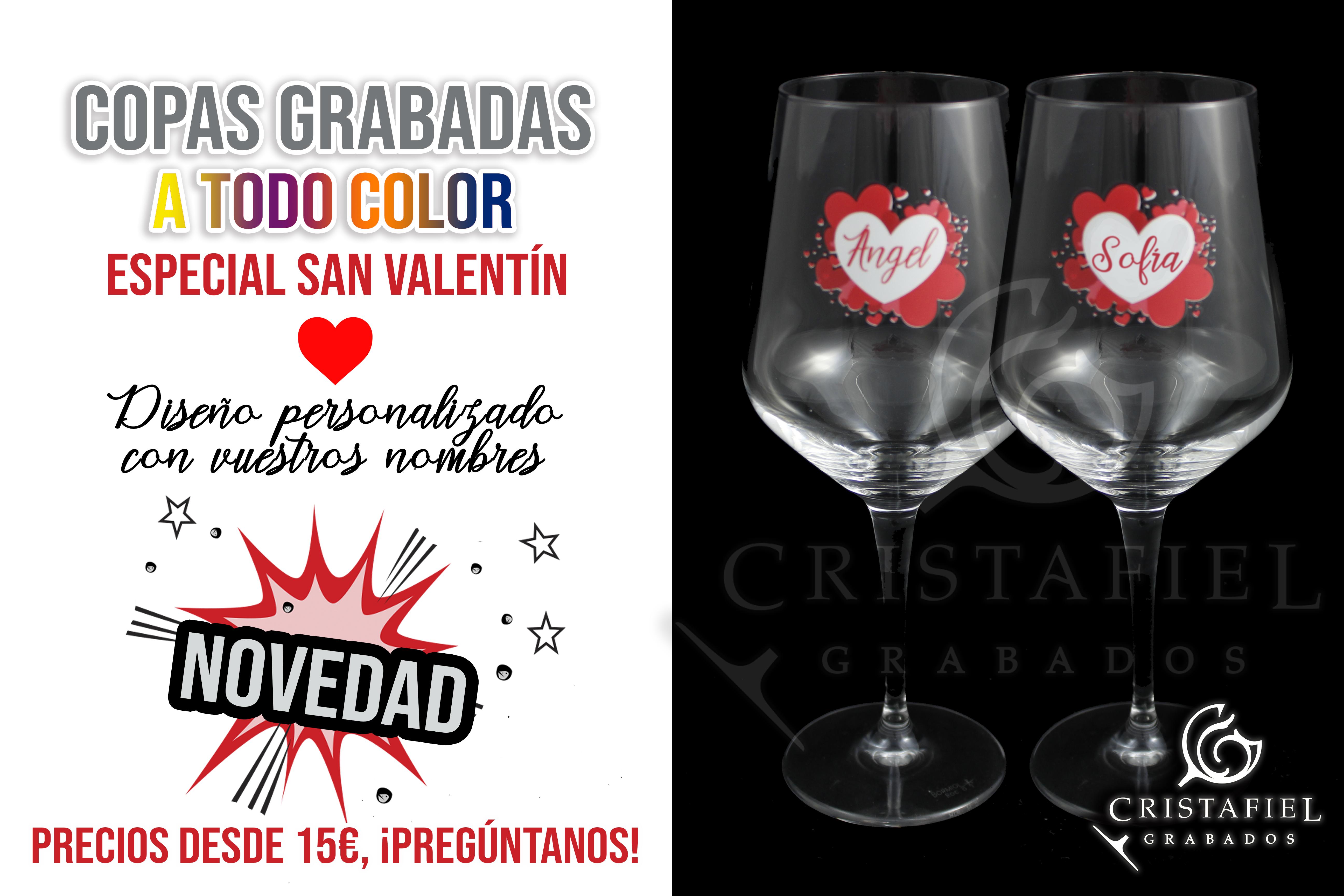 ¡Grabados a todo COLOR por San Valentín!