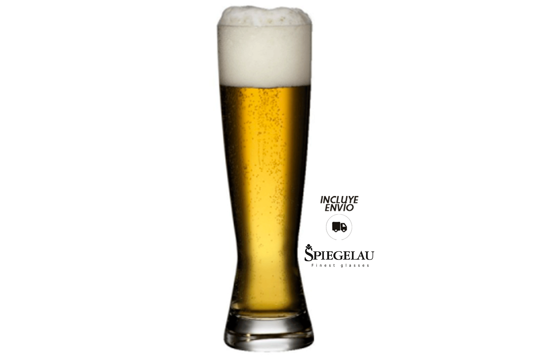Vasos Cerveza Spiegelau 500 ml Grabados Cristafiel