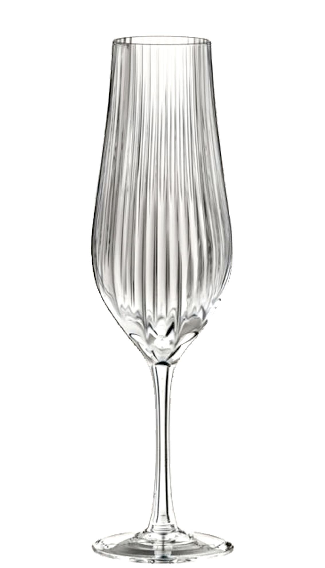Copas Tulipa Optical 170 ml Grabados Cristafiel