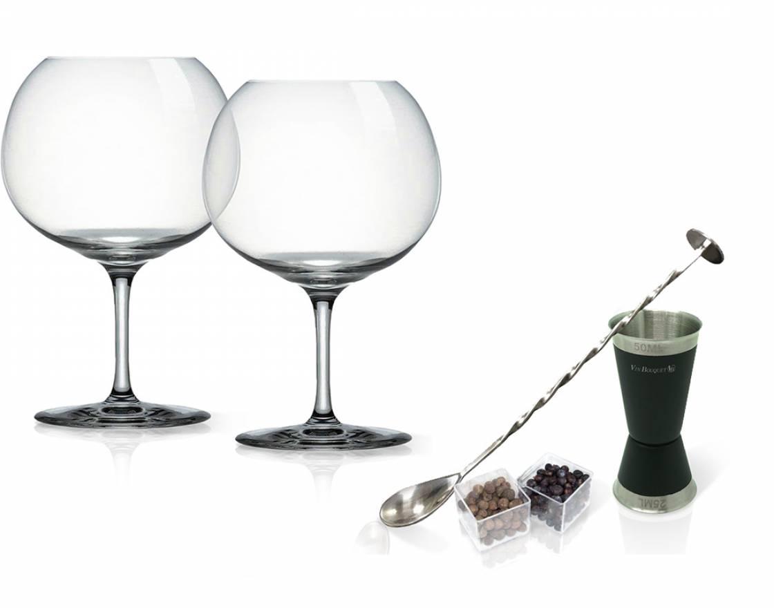 """Cristafiel Catálogo Accesorios Set Gin Tonic """"Botanics"""""""