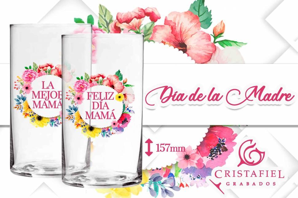 Día de la madre Regalo Día de la Madre Regalo Personalizado Grabados Cristafiel