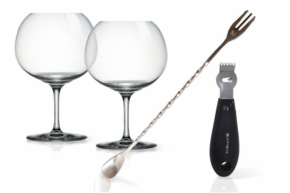 Cristafiel Grabados Catálogo Accesorios Set Gin Tonic
